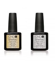 base & top coats shellac