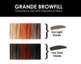 GrandeBrow Fill Tinted Brow Gel - Dark_