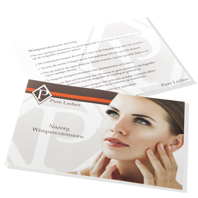 Wimperextensions nazorg formulier