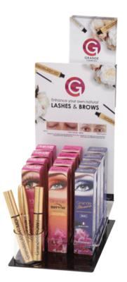 Display Lashes & Brows  (zonder producten)