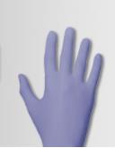 Hndschoenen violet paars