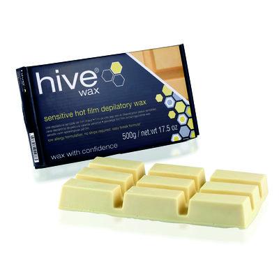 Hive Brazilian Hot Film Wax 500g White Block