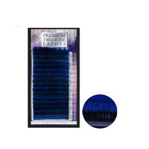 Premium Two Tone Lashes Blue C 0,15 12