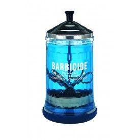 Barbicide desinfectie flacon, roestvrij edelstaal, dompelaar, 630 ml.