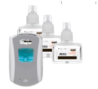 Combideal: 3 stuks Purrel Anti-Bac Foam + dispenser